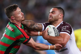 Dylan Walker is excited about making the permanent move to the Manly No.6.