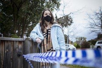 Blackburn North resident Chloe Krakouer witnessed the incident on Monday morning.