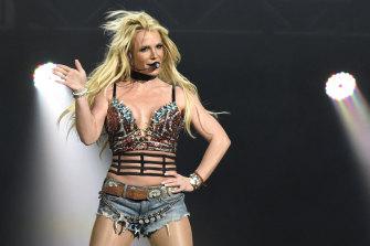 Britney Spears performs on December 3, 2016, in San Jose, California