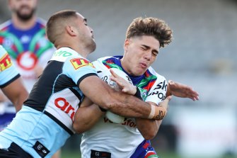Sunday's Sharks-Warriors clash at Kogarah could well be the final NRL match played in NSW in 2021.