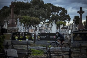 The Melbourne General Cemetery.