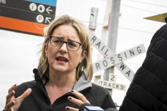 Minister for Transport Jancinta Allen.