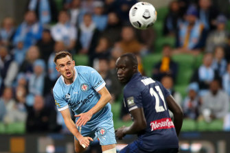 Craig Noone was on target for Melbourne City in their big win over the Mariners.