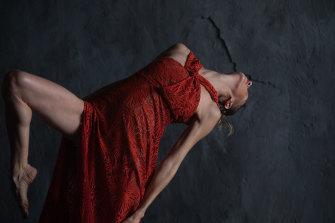 A still from the film featuring dancer Juliette Barton.