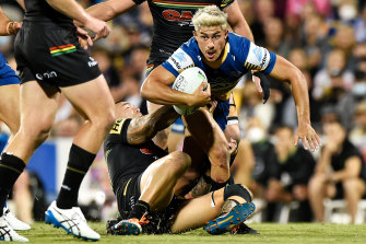 Dylan Brown has been one of the Eels best against Penrith