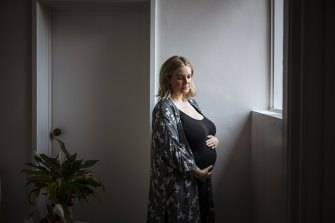 Claire Thwaites is 22-weeks pregnant and hesitant to take the COVID-19 vaccine due to the lack of testing on pregnant women.