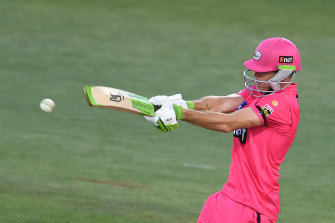 Josh Philippe fell just five runs short of the Sixers' first-ever century in their record-breaking BBL win over the Melbourne Renegades.