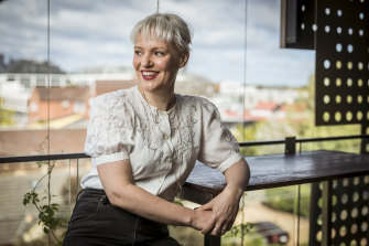 "The journey to here: Radio presenter Jacinta Parsons documents her struggle with chronic illness in the memoir ""Unseen""."