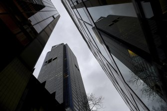 Global investments firm AMP Capital owns Bourke Place.