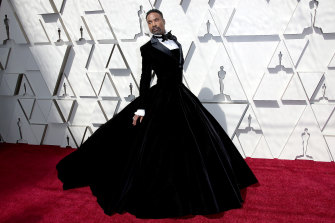 "Actor Billy Porter at last year's Academy Awards wearing the Christian Siriano tuxedo-gown. He said the conversation about fluidity inside of clothing was ""one of the last frontiers""."