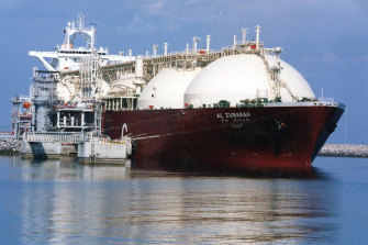 The rise in LNG exports has contributed to a jump of more than 150 per cent in emissions from the gas sector since 1990, nudging overall emission levels to the highest since 2012.
