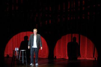 Norm Macdonald performing in Las Vegas in 2011.