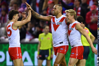 The Swans beat the Western Bulldogs on Sunday and are likely to face the Giants in the Sydney derby next round in Ballarat.