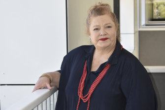 Education Minister Sue Ellery took media through the new Bob Hawke College in Perth on Monday.