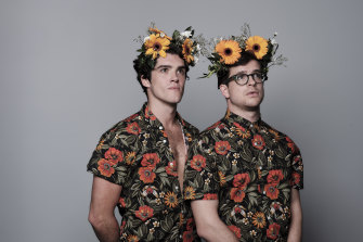 Brayden Dalmazzone (left) and Tim Spencer star in Ding Dong I'm Gay.