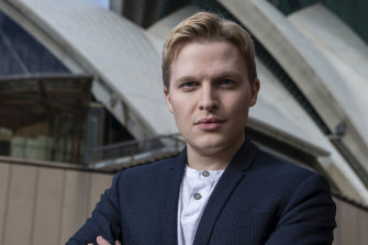 Journalist Ronan Farrow in Sydney promoting book Catch and Kill, about his pursuit of allegations of sexual predation against Harvey Weinstein.