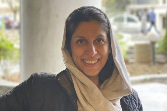 British-Iranian aid worker Nazanin Zaghari-Ratcliffe.