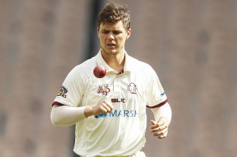 Mitch Swepson says Shield pitches are not prepared for spinners.
