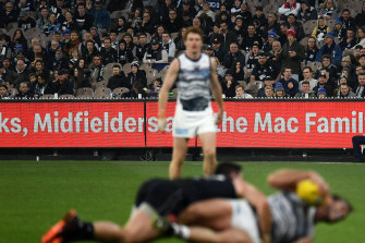 The MCG was listed as a COVID-19 exposure site for the Carlton-Geelong match on July 10.