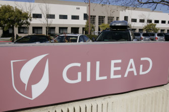 In July, Gilead got the green light for use of remdesivir in Australia.
