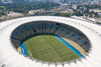 The Maracana in Rio de Janeiro will become a temporary hospital.