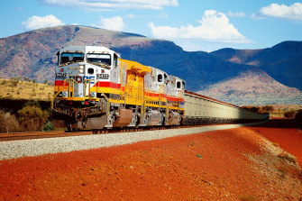 Rio Tinto's iron ore guidance has been revised up.