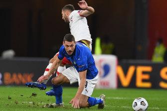 Italy and Poland drew 1-1.