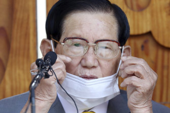 Lee Man-hee, chairman of the secreative Shincheonji Church of Jesus was arrested as part of an investigation into how thousands of worshippers were infected in February and March.