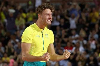 Australian pole vaulter Kurtis Marschall has been confirmed as a close contact.