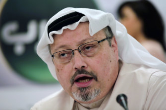 Jamal Khashoggi was killed at the Saudi Consulate in Istanbul in 2018.