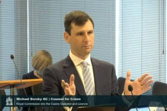 Michael Borsky, QC, counsel for Crown.