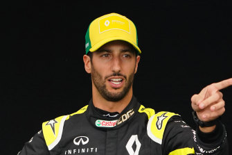 Daniel Ricciardo, who is reported to earn almost $40 million annually with Renault, was due to begin contract negotiations this year.