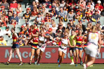 The Lions made it third time lucky in deciders.