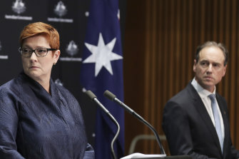 Marise Payne and Greg Hunt have welcomed the establishment of the inquiry.