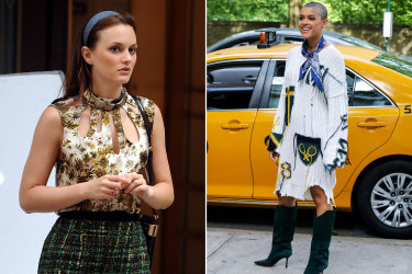 Gossip Girl fashion story