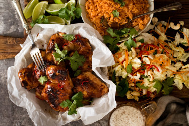 RecipeTinEats' Vietnamese chicken recipe for Good Food.