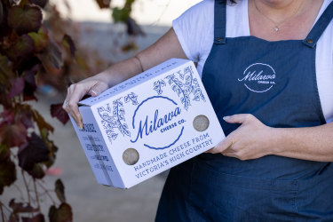 Milawa Cheese will continue to be delivered by Australia Post.