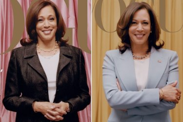Kamala Harris Vogue index images