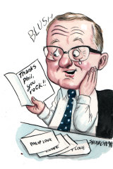 RBA staff are being encouraged to thank one another. Illustration: John Shakespeare