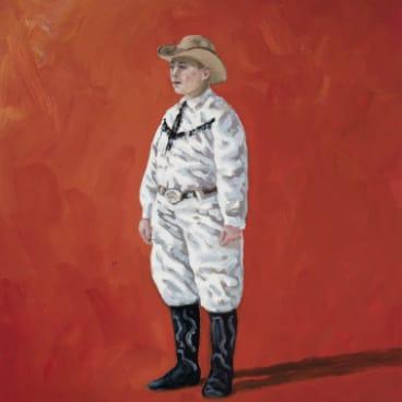 Graeme Drendel, <i>Cowboy Fan</i> in <i>On uneven ground</i> at Beaver Galleries.