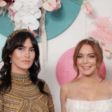 Lindsay Lohan (right) and sister Aliana, who prefers to be known as Ali.
