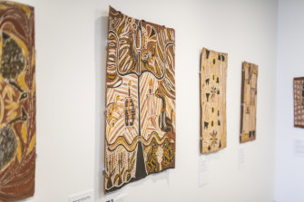 The paintings come from a golden era for  Indigenous art.