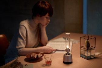 Sony's Glass speaker sounds good and creates a soft, warm glow.