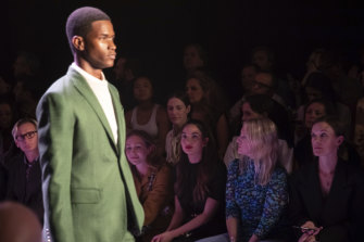 Brandon Maxwell, 34, surprised the fashion community by launching menswear at New York Fashion Week.