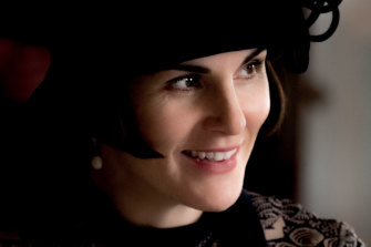 Michelle Dockery returns as Lady Mary Talbot, sporting an angular bob that made the most of the fashions.