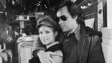 'Aw c'mon, Steve, you can tell her about us.' Barbra Streisand and Peter Campion in 'What's Up, Doc?'