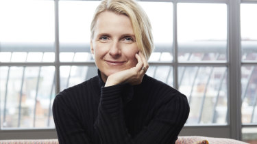 """The person in every room who is the most relaxed is the one who holds all the power,"" says author Elizabeth Gilbert."