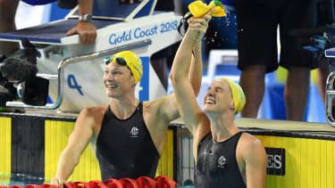 The Campbells are moving to Sydney with coach Simon Cusack, spearheading a hoped-for revival in elite swimming in NSW.