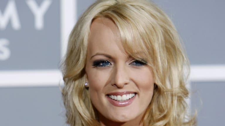 Stormy Daniels in 2007 in Los Angeles.