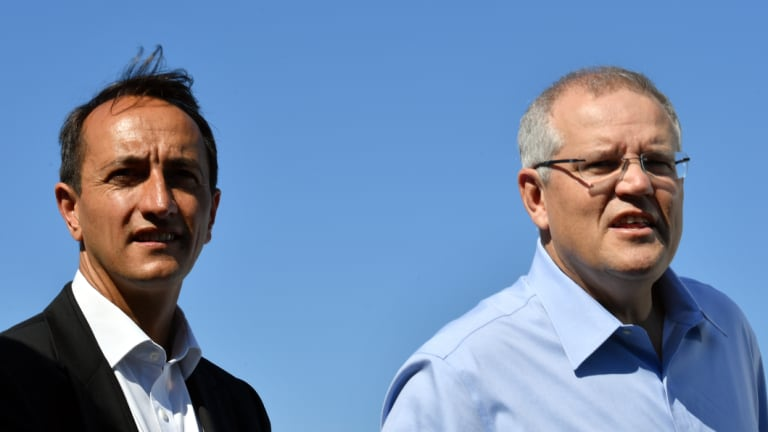 Prime Minister Scott Morrison has been campaigning and fundraising with Wentworth Liberal candidate Dave Sharma.